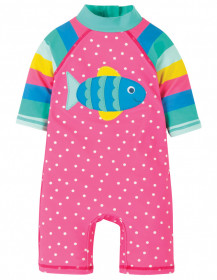 Costum de inot - Flamingo Spot/Fish, Frugi