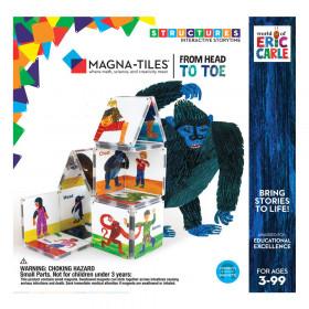 Din cap pana in picioare, Eric Carle, Magna-Tiles Structures