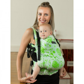 Isara V3 Toddler Full Wrap Conversion - PHILODENDRA CREAM