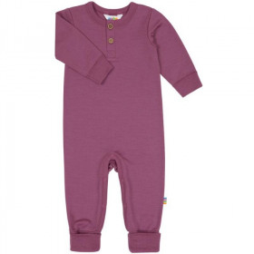 Jumpsuit Joha lână merinos - Heavy Single Wool Berry