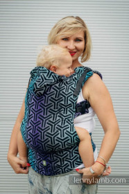 LennyLamb Baby Size, Full Wrap Conversion - TRINITY COSMOS (Second Generation)