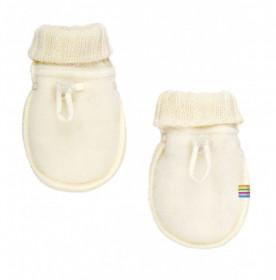 Manusi Joha lana merinos fleece - Basic White