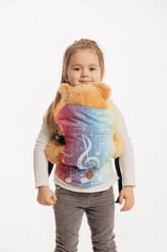 Lennylamb Symphony Rainbow Light- marsupiu de jucarie pentru copii