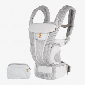 Marsupiu ergonomic, Ergobaby Omni Breeze - Pearl Grey