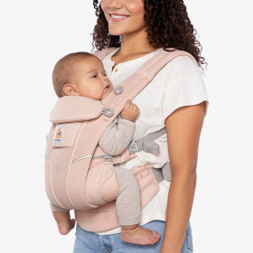 Marsupiu ergonomic, Ergobaby Omni Breeze - Pink Quartz