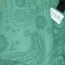 Marsupiu Ergonomic, Fidella Fusion Baby Wrap Conversion, Persian Paisley - Jungle