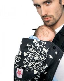 Marsupiu ergonomic, portbebe ,kokadi Baby size wrap conversion, Mr. Wonderland Allure