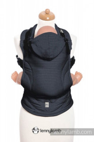 Marsupiu Ergonomic,Lenny Lamb Baby Size,  ONYX Full Wrap Conversion