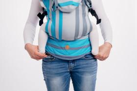 Marsupiu ergonomic LennyGo Toddler, Misty Morning