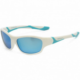 Ochelari de soare KOOLSUN, 6-12 ani - Sport- White Ice Blue