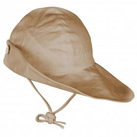 Pălărie ajustabilă ManyMonths Original cânepă și bumbac - Latte Mousse