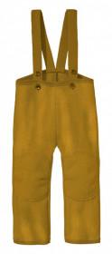 Pantaloni Disana lână organica boiled wool - Gold