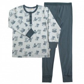 Pijama Joha bumbac organic - Viking