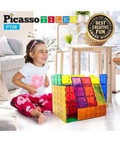 Set Picasso Tiles - 28 De Piese Mari