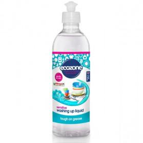 Solutie fara miros, pentru spalat vase/biberoane Sensitive, Ecozone, 500 ml