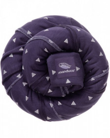 Wrap elastic Manduca - Purple Darts