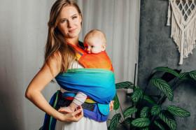 WrapTai LennyHybrid Half Buckle, Rainbow Baby