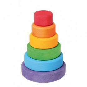 Turnulet colorat, 6 piese