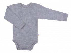 Body Joha din lână merinos - Basic Grey