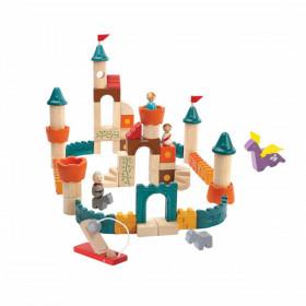 Set de construcție - Castelul medieval, Plan Toys