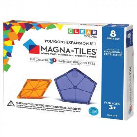 Magna-Tiles Extensie Poligoane (8 piese)