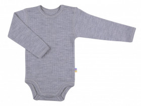 Body Joha din lână merinos - Basic Grey