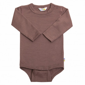 Body Joha lână merinos - Baby Single Wool Marsala Rose