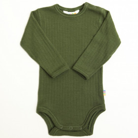 Body Joha lână merinos - Basic Bottle Green