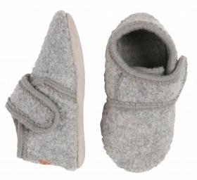 Botosei din lână fiartă - Grey, Melton
