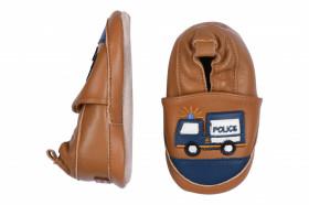 Botosei din piele pentru interior - Police Truck, Melton