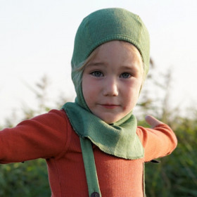 Cagula ManyMonths lână merinos - Jade Green