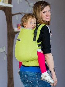 Isara V3 Toddler Full Wrap Conversion - verde lime