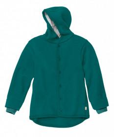 Jacheta cu nasturi din lână fiartă Disana - Pacific