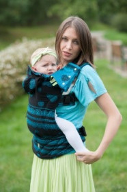 Lenny Lamb Full Wrap Conversion,  Toddler - Divine Lace (Second Generation)