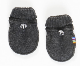Manusi Joha lana merinos fleece - Basic Grey