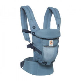 Marsupiu ergonomic, portbebe, Ergobaby Adapt Cool Air Mesh, Oxford Blue