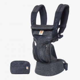 Marsupiu ergonomic,Ergobaby Omni 360 Cool Air Mesh Blue Tweed