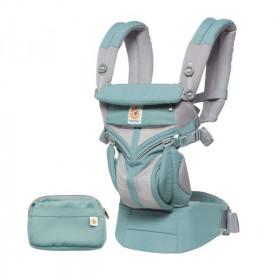 Marsupiu ergonomic, portbebe ,Ergobaby Omni 360 Cool Air Mesh,Icy Mint