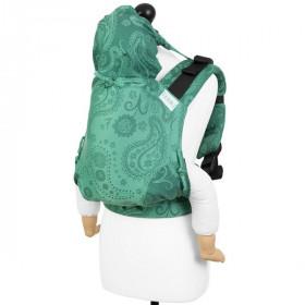 Marsupiu Ergonomic, Fidella Fusion 2.0 Toddler Wrap Conversion, Persian Paisley Jungle