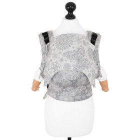 Marsupiu Ergonomic, Fidella Fusion Baby Wrap Conversion, Iced Butterfly -smoke