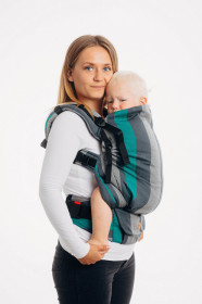 Marsupiu ergonomic LennyPreschool, Smoky Mint