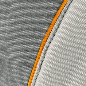 Marsupiu Ergonomic,portbebe Manduca XT, Grey-Orange