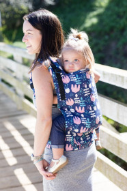 Marsupiu Tula Toddler Carrier, Twilight Tullip