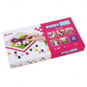 Mozaic Pixel Magic 250 piese, Joc Din Lemn Cubika