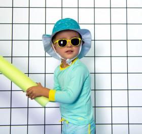 Ochelari de soare Ki ET LA ,2-4 ani -Wazz Yellow