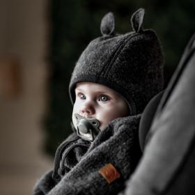 Overall lână fiartă boiled wool Mikk-line - Grey Melange