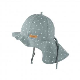 Pălărie ajustabilă Pure Pure din in - Mint