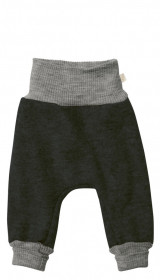 Pantaloni bloomers Disana lână organica boiled wool - Anthracite