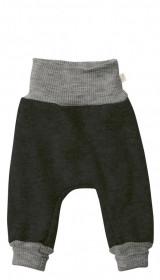 Pantaloni bloomers Disana lână organica boiled wool - Anthracite