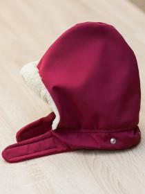 Protectie de iarna Isara + Gluga, Berrylicious Burgundy (grena)